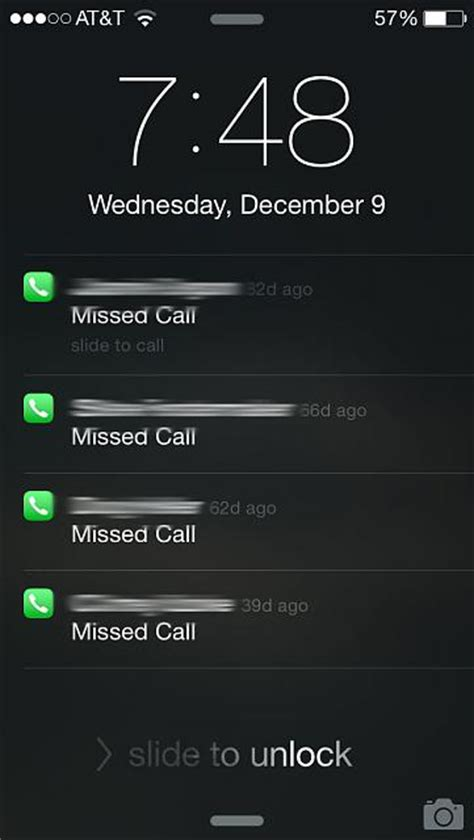 why are missed phone calls appearing after weeks of being iphone ipod forums at