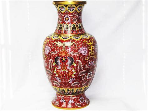 5 Foot Vases by Beautiful Vintage Large Cloisonne Vase 2 6