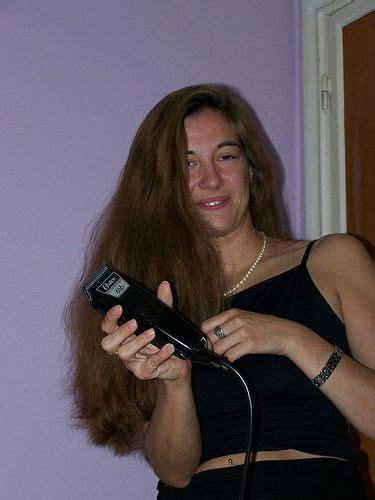 forced to get female hair style shave my head please long hair shearing pinterest