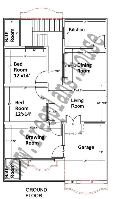 35 sq meters to feet 35 215 55 feet 178 square meters house plan