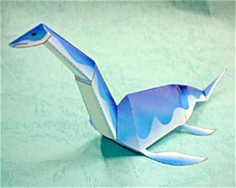 Loch Ness Origami - loch ness papercraft