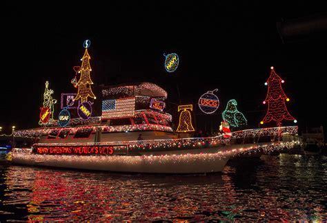 christmas parade newport beach
