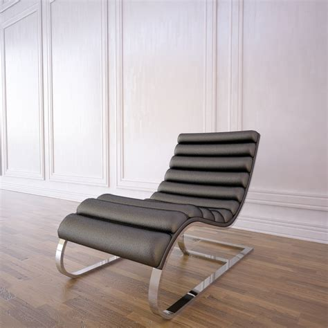 oviedo chaise 3d model of oviedo leather chaise
