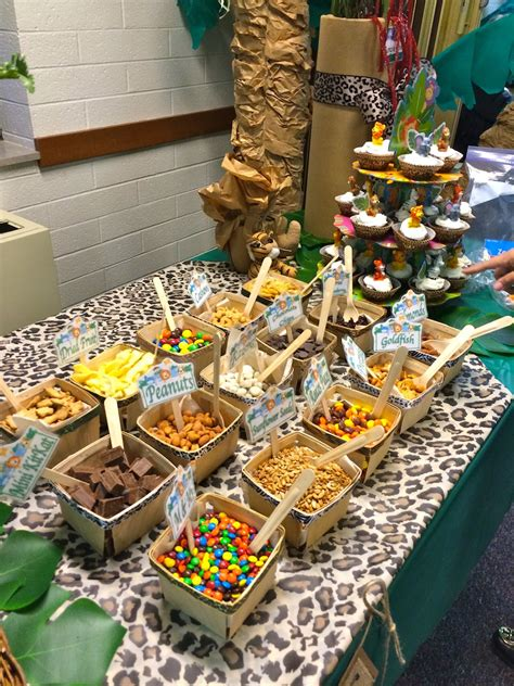 theme buffet names trail mix buffet quot it s a jungle out there quot themed party