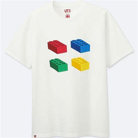 Lego Graphic 12 lego sleeve graphic t shirt uniqlo uk