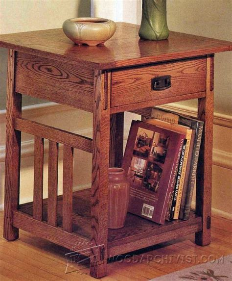 craftsman furniture plans best 25 end table plans ideas on pinterest diy end