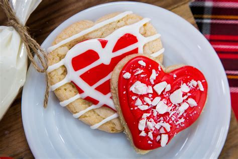 recipe holiday heart shaped sugar cookies home family hallmark channel