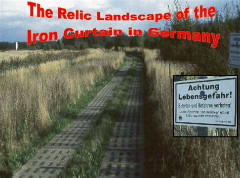 relic landscape of the iron curtain in germany introduction 1