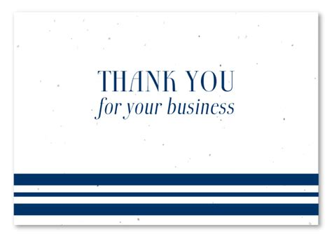 Thank You Letter For Your Business 5 Thank You For Your Business Note Ganttchart Template