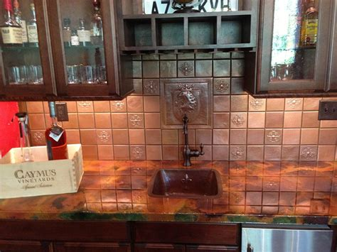Copper Tile   Plain   Artisan Crafted Home