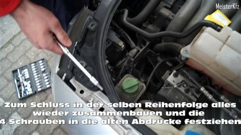 Audi A4 B5 Sto Stange Vorne Abbauen by Audi A4 8e Gl 252 Hle Leuchtmittel Auswechseln How To