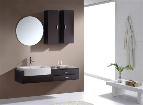 Floating Cabinets Bathroom Best Floating Bathroom Vanity Home Design By