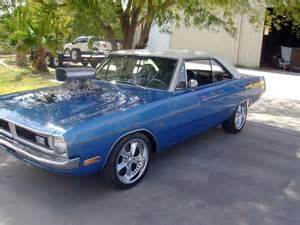 1971 dodge dart custom 2 door coupe 117100
