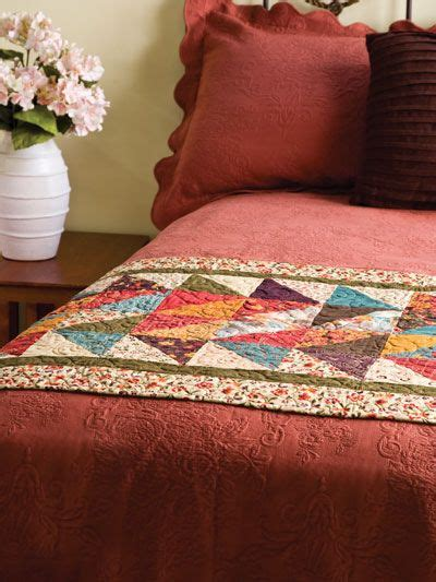 Patchwork Bed Runner Patterns - patchwork bed runner patterns woodworking projects plans