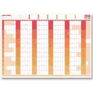 printable wall planner 2016 uk giant 2016 dated year planner business planners