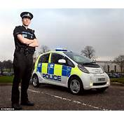 Police Unveil Scotlands First Full Electric Car But Only