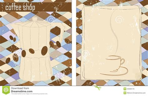 shop template coffee shop design template stock photo image 23206170