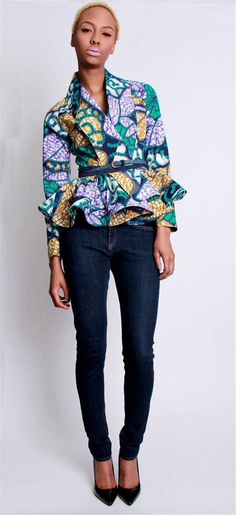 styles of ankara blazer 17 best images about les vestes on pinterest african