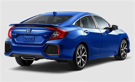 Honda Si 2020 by Feature Of 2020 Honda Civic Si Coupe Specs Interior