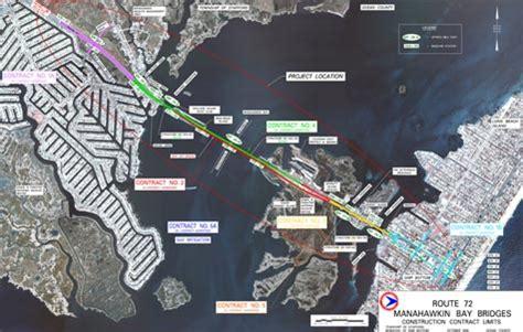 route  manahawkin bay bridges project maps  plans commuter information