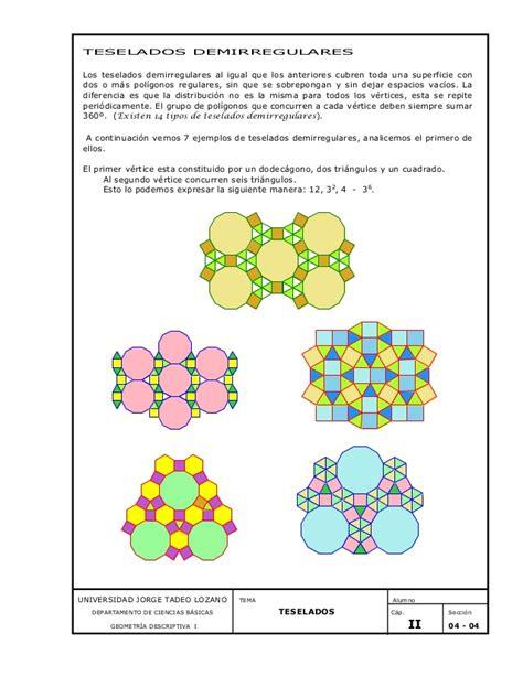 teselados tipos de teselados teselado clases 05