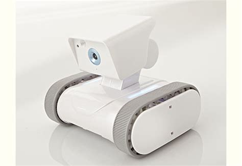 wireless home security robot sharper image
