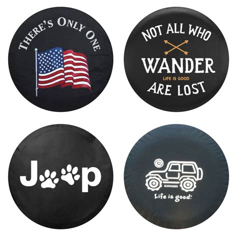 Spare Tire Covers For Jeeps All Things Jeep Spare Tire Covers
