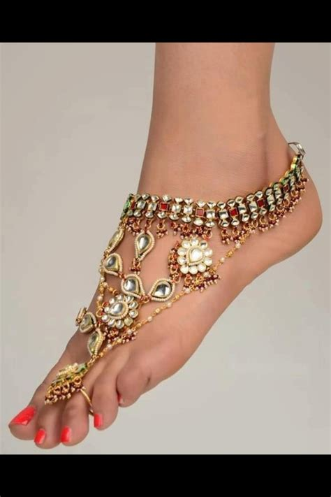 17 best images about foot jewellery on