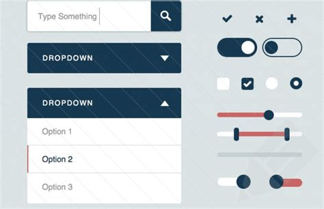 html design radio button flat ui kit for sketch uicloud