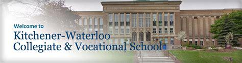 School Kitchener by Kitchener Waterloo Collegiate Vocational School