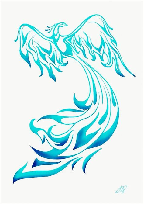 tattoo new version new blue phoenix tattoo version photo 4 2017 real photo