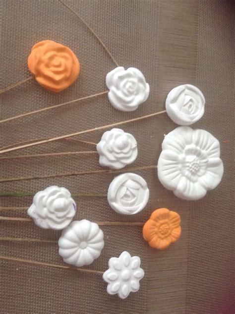 fiori di ceramica fiori di polvere di ceramica diy gessetti profumati 2 by