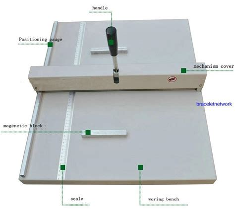 Manual Paper Folding Machine - a3 paper folding machine creasing 460mm manual paper