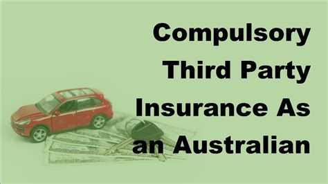 Cheapest Car Insurance Nsw by Compulsory Third Insurance As An Australian