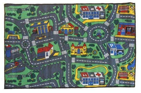 Children S Mats Baby Rug Kids City Roads Play Car Play Mat Car Play Rug