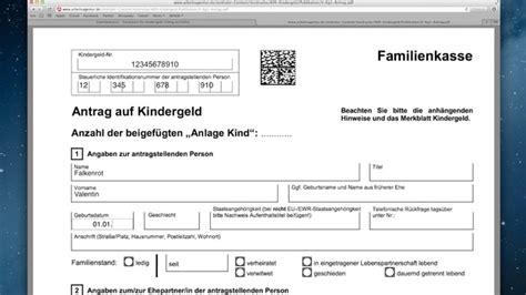 wann steht einem kindergeld zu familienkasse formulare f 252 r kindergeld richtig