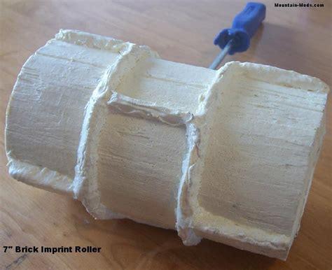 concrete pattern roller hire concrete cement plaster landscape curb curbing 7 quot brick