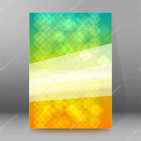 design background cover abstract mosaic background brochure cover page layout