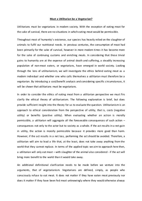 Course Essay by Applied Ethics Course Essay 2
