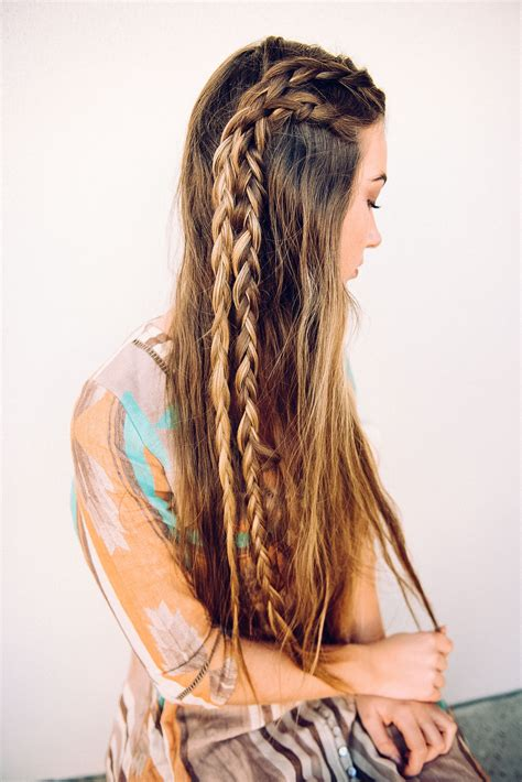 braided hairstyles on pinterest long boho braids long hair don t care pinterest