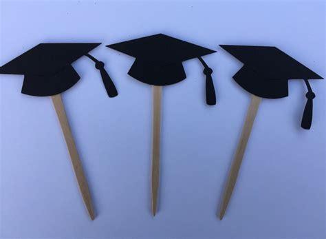 como hacer gorros de graduacion cupcake toppers de graduaci 243 n graduaci 243 n por