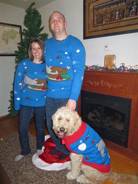 puppy match matching owner sweaters take to a new level