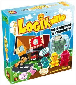 Asmodee Gadget Jeux by Asmod 233 E Logikville Jeu De Cartes Achat Prix Fnac