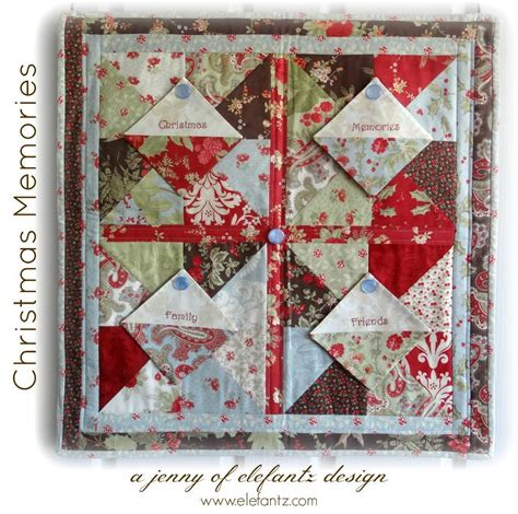 free quilt pattern christmas memories