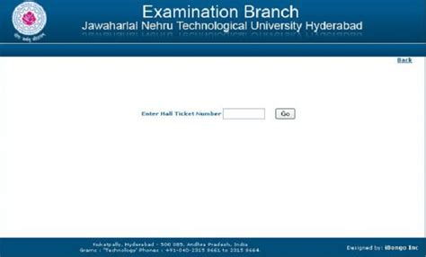 Jntu Mba Results 2014 by Jntu Hyderabad 4 1 R09 R07 R05 Regular Supply Exams