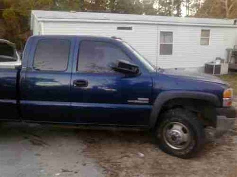 used gmc sierra classic 3500 extended cab pickup kelley blue book sell used 2001 gmc sierra 3500 sle extended cab pickup 4 door 6 6l in panama city beach florida