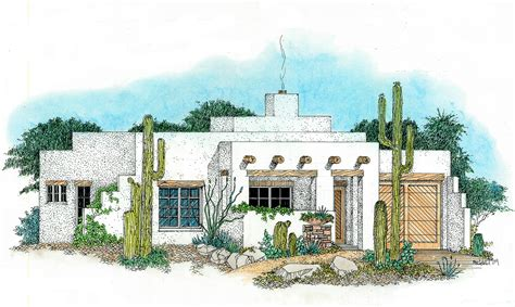 southwest house compact southwest house plan 12535rs architectural