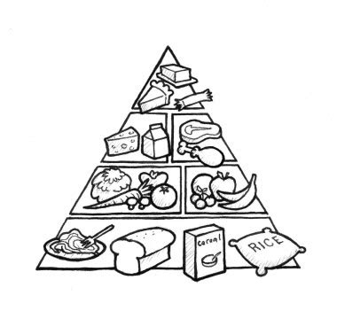 coloring page of the food pyramid 14 images of food pyramid coloring pages printable food