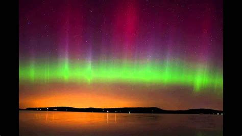 Northern Lights Vt northern lights borealis in malletts bay vermont