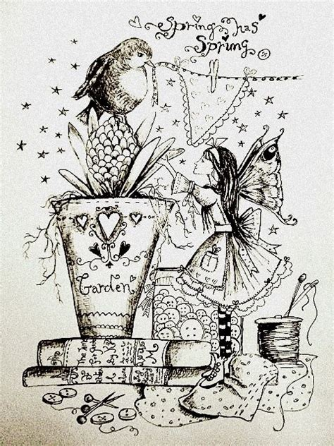 garden party coloring page fairy garden coloring page never too old to color